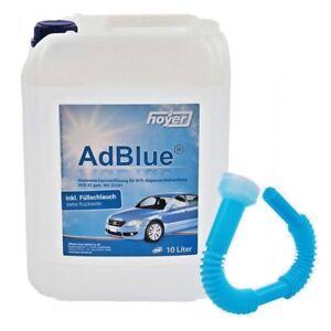 Hoyer AdBlue inkl. Füllschlauch 10 Liter Kanister Harnstofflösung ISO22241 10l