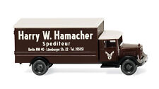 N scale Wiking 94407 Mercedes-Benz L2500 HARRY HAMACHER Delivery Truck NEW