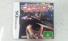 Need For Speed (NFS) carbon own the city DS