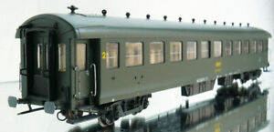 "ROCO VOITURE SNCF MÉTALLIQUE TYPE ""EST"" B11"