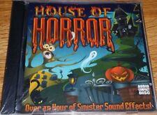 Halloween Cd - New - House of Horror - An Hour of Sinister Sound Effects