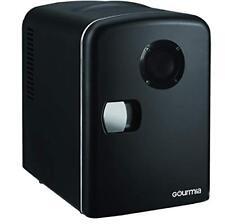 Gourmia GMF668 Mini Fridge Cooler & Warmer, with Bluetooth Speaker