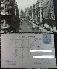 POSTAL MADRID AVENIDA DE JOSE ANTONIO ALMACENES SEPU GRAN VIA POSTCARD  CC04178