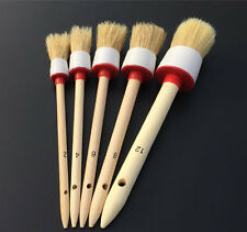 5 X Soft Bristle Brush Automobile Truck Dash Board Center Console Cleaning Tool