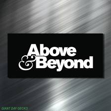 (2) TWO Above And Beyond Vinyl Decal Sticker For Car Laptop Skateboard NEW EDM!