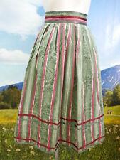 Trachtenrock Sportalm Baumwolle mit Streifen und Blumendruck Trachten Rock Gr.34