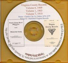 Virginia County Records -Va History and Genealogy