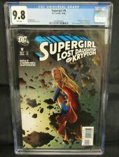 Supergirl #9 (2006) Churchill Cover Lost Daughter Krypton CGC 9.8 CE307