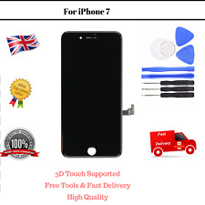 OEM iPhone 7 Black Display Touch Digitizer LCD Screen Assembly Replacement