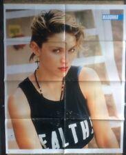 4 MADONNA Original Vintage Magazine Posters