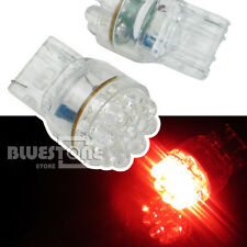 Brand New 2pcs T20 9-LED Dual Filament Car Turn Tail Brake Light Lamp Bulbs Red