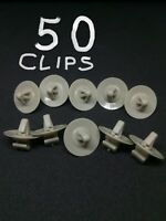 50 x Vauxhall Vivaro / Renault Trafic side door moulding side trim panel clips