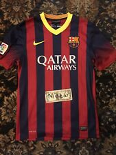 FC Barcelona jersey kit 2013 USED sz S Nike OFFICIAL 532822-413