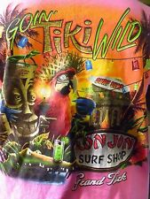 Ron Jon Surf Shop GOIN TIKI WILD Grand Turk T-Shirt Size S