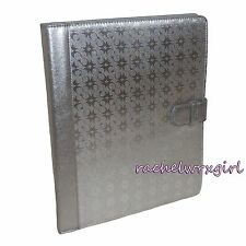 NWT Coach Waverly Signature Embossed iPad Folio Folding Case Stand 68936 Silver