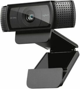 Logitech C920E HD Pro Webcam 1080P Video Camera Skype Dual Built-in Mic USB