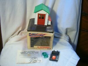 Lionel #2125 Whistling Freight Shed With Original Box / Rare And Unused