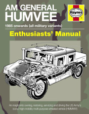 Haynes Manual AM General Humvee US Army Military Vehicle Enthusiast's Guide