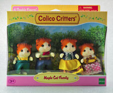 Sylvanian Families Calico Critters Maple Cat Family