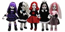 LIVING DEAD DOLLS 28_Sweet 16 Party_HAYZE_ONYX_RUBY_Sweet 16 SADIE_TINA PINK_MIB