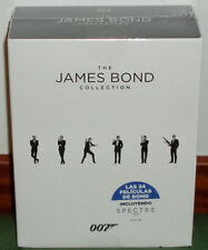 COLLECTION JAMES BOND OO7 COMPLETE-24 DISCS BLU-RAY NEW SEALED