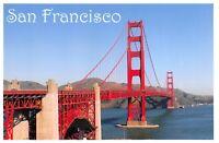 Postcard The Golden Gate Bridge, San Francisco, California, United States 9G