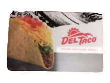 DEL TACO GIFT CARD $100   Burrito Fries Mexican Food