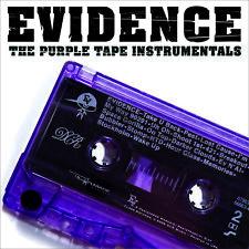 Evidence - 'Purple Tape (Instrumentals)' (CD)