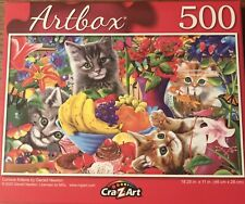 """Artbox Curious Kittens 500 Pc Puzzle NEW RELEASE. New and sealed. 18.25x11""""."""