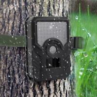 Waterproof Hunting Wildlife Trail Camera 1080P HD Video 12MP Photo IR Camcorder