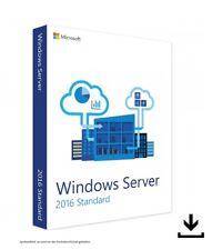 Microsoft Windows Server 2016 standard VL - 16 Core - 100% Originale-Nuovo - 001