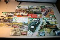 MODEL RAILROADING Magazines (Mint) 7 copies different months, never used