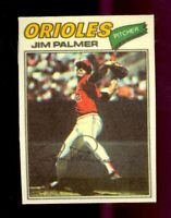 1977 Topps Cloth Stickers #36 Jim Palmer Baltimore Orioles HOF NM/MT
