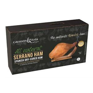 Serrano Ham Gift Box All natural, No nitrates, nitrites or preservative added