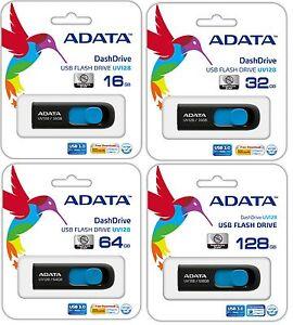 128GB 64GB 32GB 16GB  USB Flash Drive Thumb Stick Memory Glide USB 3.0