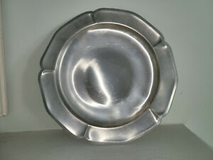 """Vintage International Pewter 277 701 12"""" Inch Tray Plate International Silver Co"""