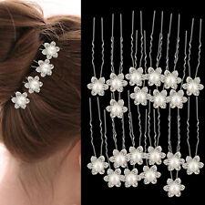 40 x DIAMANTE CHIARO Pin Clip per capelli sposa da sposa prom gioielli SPOSE