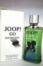JOOP GO ELECTRIC HEAT TSTR  BY JOOP 3.4/3.3 OZ EDT SPRAY FOR MEN NEW TSTR BOX