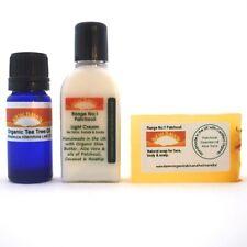 Acné y cicatriz eliminación paquete de muestra ~ Jabón Crema Y Aceite ~ Nuevo Amanecer orgánicos Remedios ~ Manchas