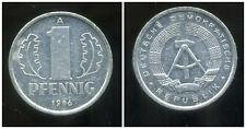 ALLEMAGNE  DDR  1 pfennig 1986