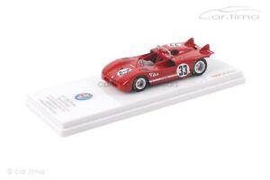 Alfa Romeo Tipo 33/3 6h Watkins Glen 1971 Pescarolo/Stommelen TSM 1:43 TSM154309