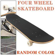 Freestyle Skateboard Double rockerr Board  Four Wheel Cartoon Street Longboard