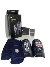Nike Mercurial Lite Shin Guards Team Usa Soccer Size L