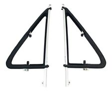VW T25 Aluminium Opening Quarter Light Frames with OEM Fitted Rubber Seal C9108