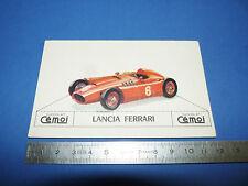 CHROMO 1950-1959 CHOCOLAT CEMOI DECOUPAGE AUTOMOBILE AUTO LANCIA FERRARI