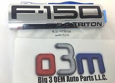 2004-2008 Ford F150 5.4 TRITON Left or Right Hand NAMEPLATE OEM 4L3Z-16720-GA