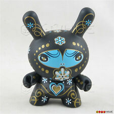 Kidrobot Dunny 2010 Fatale vinyl Black figure - Catalina Estrada with card loose