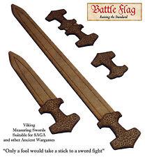 Measuring Stick Set suitable for  SAGA Dark ages Skirmish Game. Unique Design!