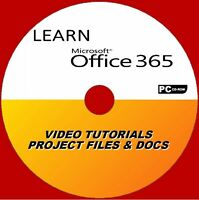 LEARN MICROSOFT OFFICE 365 PROFESSIONAL STEP BY STEP VIDEO TRAINING SYSTEM PC CD