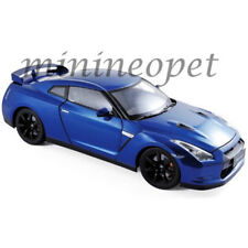 NOREV 188052 2008 NISSAN SKYLINE GTR R-35 1/18 DIECAST MODEL CAR BLUE